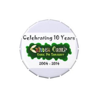 Lata 3 del aniversario del campo del Critter 10ma Latas De Dulces