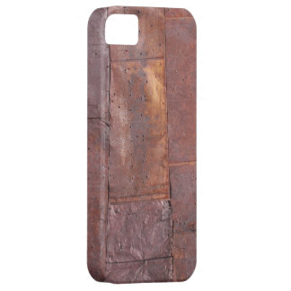 Lata aherrumbrada iPhone 5 funda