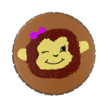 Lata de la menta del mono frascos de caramelos