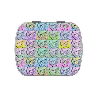 Lata del caramelo de Belly™ de la jalea del diseño Latas De Dulces