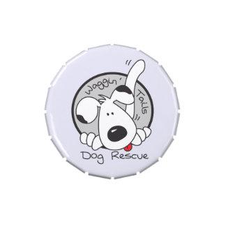 Lata del caramelo del logotipo de WTDR Frascos De Caramelos