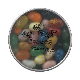 lata del caramelo del top del claro del horror latas de caramelos