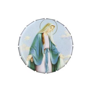 Lata del caramelo del Virgen María Latas De Dulces