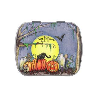 Lata del feliz Halloween Latas De Caramelos