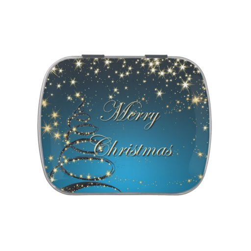 Lata mágica del caramelo del navidad elegante jarrones de dulces