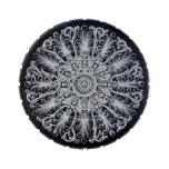 Lata ornamental del caramelo del medallón del Vict