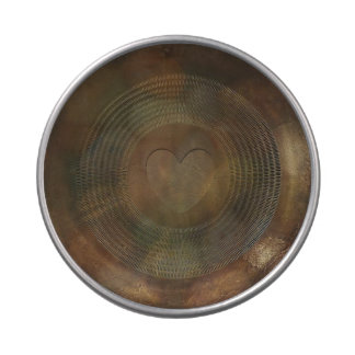 Lata plateada de metal rústica del caramelo del latas de caramelos