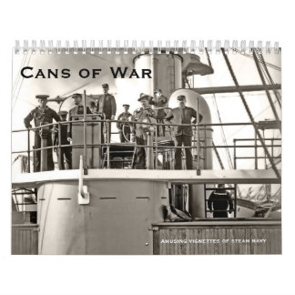 Latas de la guerra 3 calendario