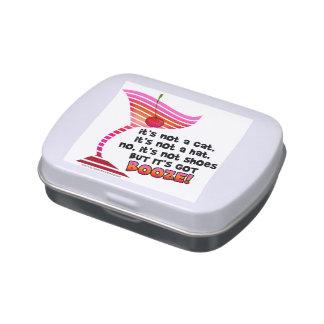 ¡LATAS de la MENTA del CARAMELO - PERO tiene los Frascos De Caramelos