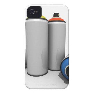 Latas de la pintura de aerosol iPhone 4 protectores