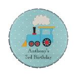 Latas del caramelo del cumpleaños del tren de Choo Latas De Dulces
