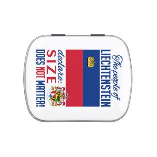 Latas y tarros de Liechtenstein Jarrones De Caramelos