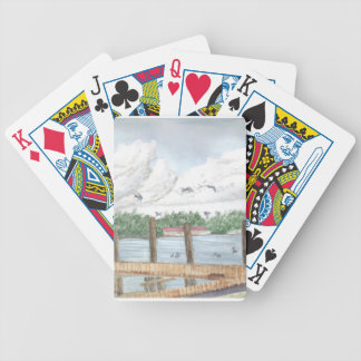 Late Afternoon Bicycle Playing Cards