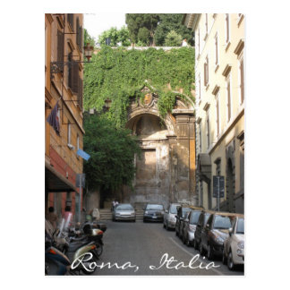 Late afternoon in Rome Postcard