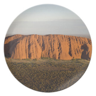 Late Afternoon Light on Uluru / Ayers Rock, Plate