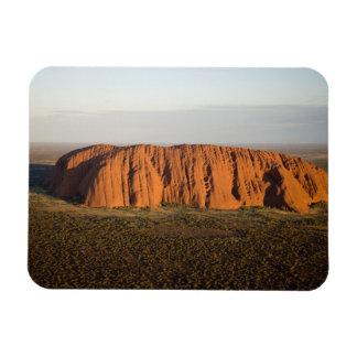 Late Afternoon Light on Uluru / Ayers Rock, Rectangular Magnet