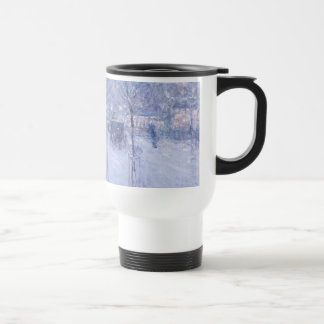 Late Afternoon New York Winter - Childe Hassam 15 Oz Stainless Steel Travel Mug