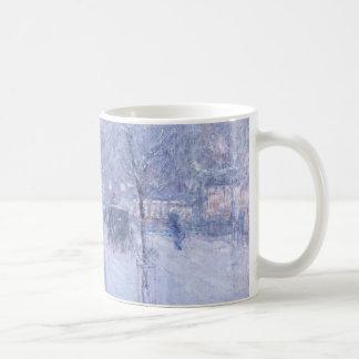 Late Afternoon New York Winter - Childe Hassam Classic White Coffee Mug