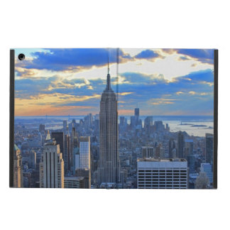Late afternoon NYC Skyline as Sunset Approaches iPad Air Cover