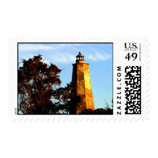 Late Afternoon on Bald Head Island Postage Stamp