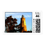 Late Afternoon on Bald Head Island Postage Stamps