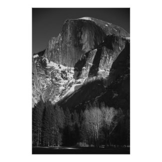 Late Afternoon Sun On Half Dome Poster