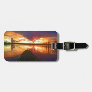 Late Afternoon Sunset Luggage Tag