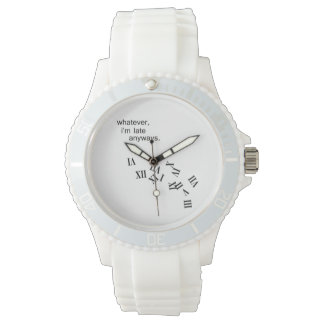 Late Anyways Wrist Watch