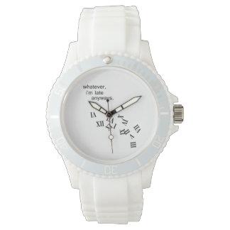 Late Anyways Wristwatch