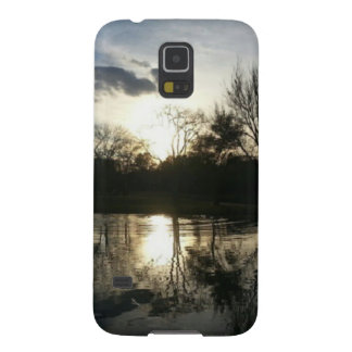 Late at the Lake (Nature & Landscape) Galaxy S5 Case