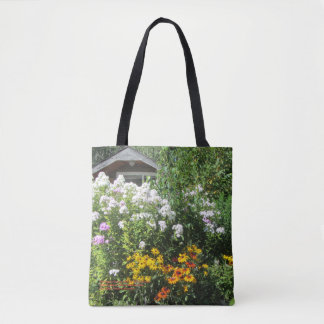 Late August Cottage Phlox & Gloriosa Daisies Tote Bag