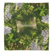 Late Day Glory Fractal BRIDESMAID Bandana