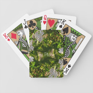 Late Day Glory Fractal Custom Playing Cards