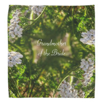 Late Day Glory Fractal GRANDMOTHER OF THE BRIDE Bandana