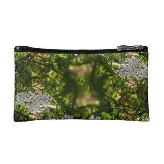 Late Day Glory Fractal Monogrammed Purse Cosmetic Bag