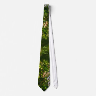 Late Day Glory Fractal SON OF THE BRIDE Tie