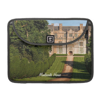 Late Elizabethan Montacute House Stately Home MacBook Pro Sleeves