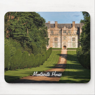 Late Elizabethan Montacute House Stately Home Mouse Pad