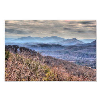 Late Fall in the Virginia Alleghenies Art Photo