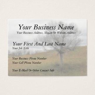 Late Fall - The Barren Hillside Business Card
