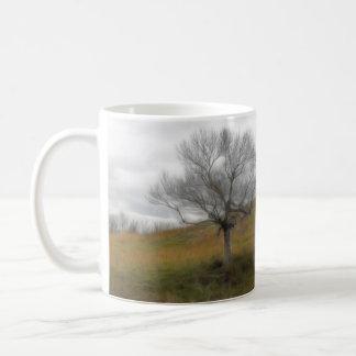 Late Fall - The Barren Hillside Coffee Mug