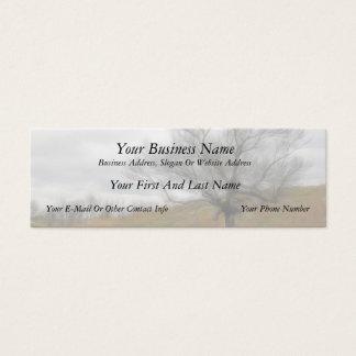 Late Fall - The Barren Hillside Mini Business Card