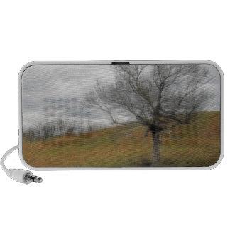 Late Fall - The Barren Hillside Travelling Speaker