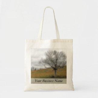Late Fall - The Barren Hillside Tote Bag