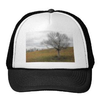 Late Fall - The Barren Hillside Trucker Hat