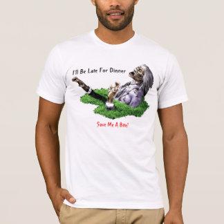 Late For Dinner - Adult Basic American T-Shirt