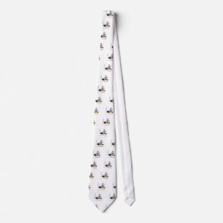 Late for work! neck tie