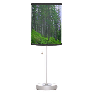 Late Lodge pole forest Desk Lamp
