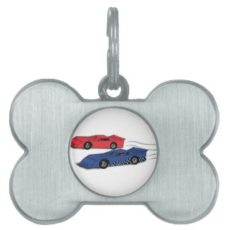 Late Models Racing Pet ID Tag