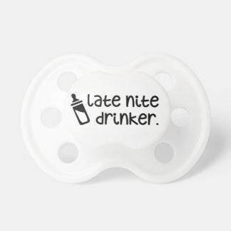 Late night drinker pacifier